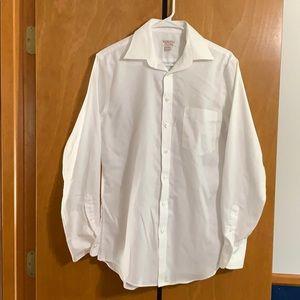 Small White Long sleeve dress shirt